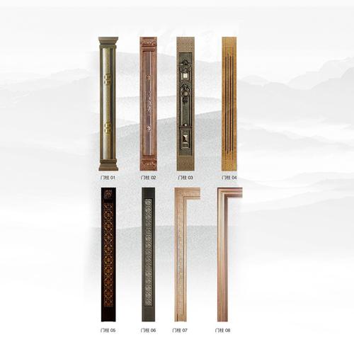 铸铝门配件-铸铝门可选门铸