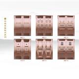 铜门配件-铜门可选背面款式
