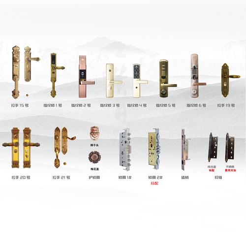 铜门配件-铜门可选门头3