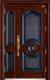 高端私人定制艺术安全门-019  团圆子母门(锌合金精雕版)(库存)