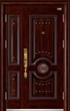 高端私人定制艺术安全门 -053  东方明珠子母门(拼接)(库存)
