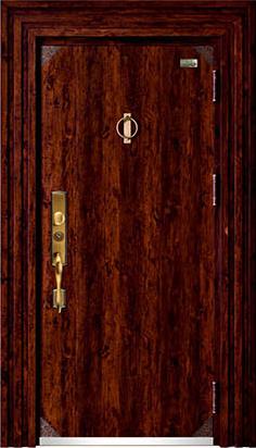 高端私人定制艺术安全门-022  众福门