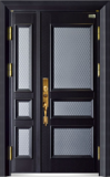 高端私人定制艺术安全门 -011  贝尔诺(锌合金、铸铝)