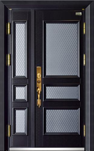 高端私人定制艺术安全门-011  贝尔诺(锌合金、铸铝)