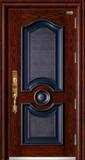 高端私人定制艺术安全门 -018  团圆(锌合金精雕版)(库存)