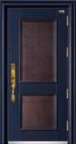 高端私人定制艺术安全门 -020  和和美美(逾甲拼接单面花)(库存)
