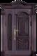 高端私人定制艺术安全门-002  罗曼帝国(钢铜、铸铝)