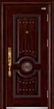 高端私人定制艺术安全门 -055  东方明珠(拼接)(库存)