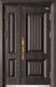 高端私人定制艺术安全门-012  艾丽斯(锌合金)