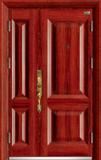 高端私人定制艺术安全门 -061  红红火火(库存)