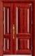 高端私人定制艺术安全门-061  红红火火(库存)