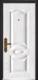 高端私人定制艺术安全门-066  福宏  背面