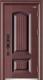 高端私人定制艺术安全门-016  国颂(锌合金)(库存)
