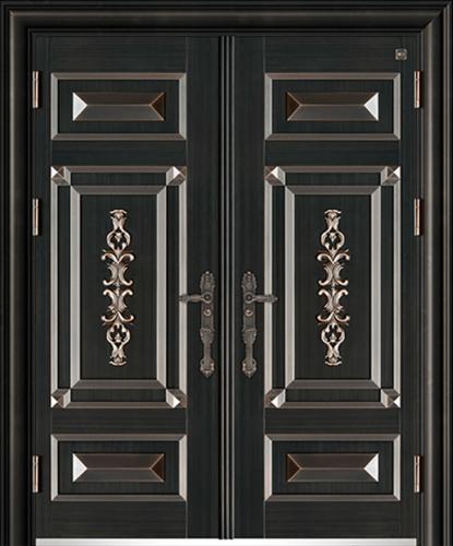 锌铜定制门-XT-007国韵对开门
