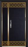 锌铜定制门-XT-005藏龙阁子母门