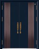 锌铜定制门-XT-001奢奇对开门