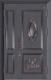 锌铜定制门-XT-011龙恩阁子母门