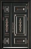锌铜定制 -XT-008国韵子母门