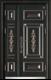 锌铜定制-XT-008国韵子母门