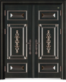 锌铜定制-XT-007国韵对开门
