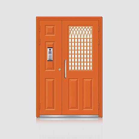 楼宇门-BY-R-9002红铜色