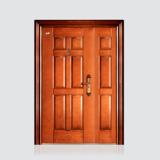 非标门 -喜安仿铜木纹子母门