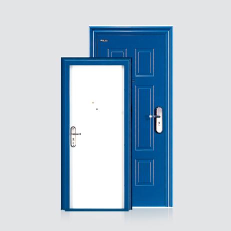 防盗安全门-方欧套色门