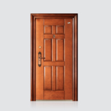 防盗安全门 -仿铜木纹喜安门