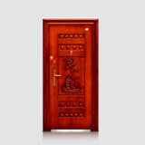 防盗安全门 -福安仿红铜门(平板)