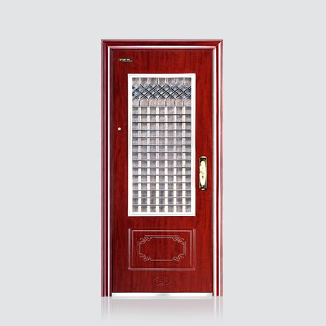 防盗安全门-不锈钢窗门中门 BY-S-22