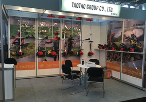Taotao Garden Tools participated in the SPOGA exhibition in Germany in September 2016