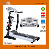 家用多功能手动坡度调节可移动跑步机 -艾可多跑步机黑金刚系列EX-706A