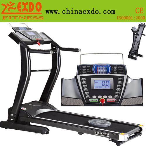 家用单功能全折叠可移动免安装跑步机-艾可多跑步机黑金刚系列EX-807B