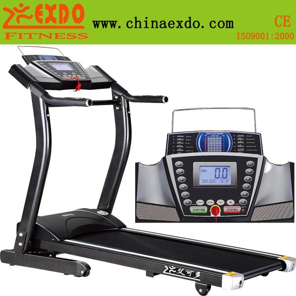 家用单功能手动坡度电动升降跑步机 艾可多跑步机黑金刚系列EX-808B
