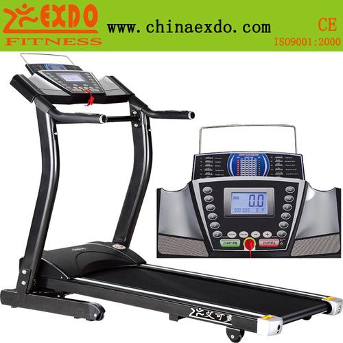 家用单功能手动坡度电动升降跑步机-艾可多跑步机黑金刚系列EX-808B
