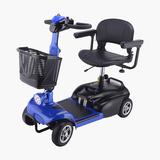 老年代步车 -蓝色