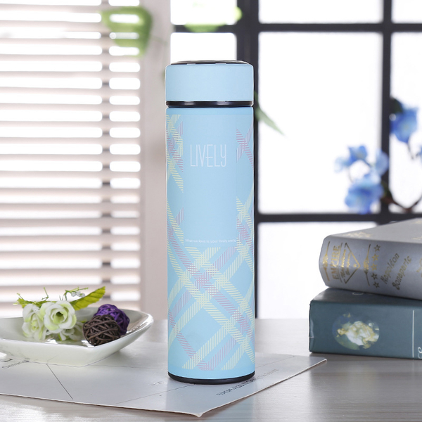 磨砂拼色不锈钢保温杯日用商务办公礼品水杯创意定制logo杯子批发 CX034