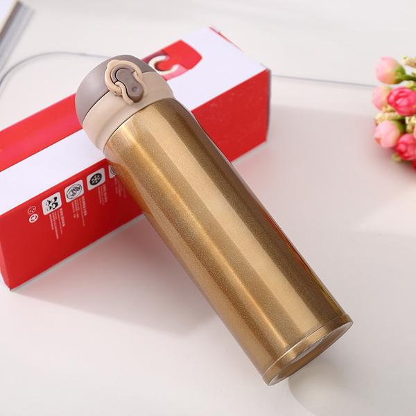 不锈钢304弹跳杯创意学生情侣保温杯时尚运动户外定制礼品水杯 CX308