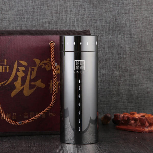 厂家直销高真空钛金杯保温杯商务凯时k66网址水杯男女茶杯可定制OGO