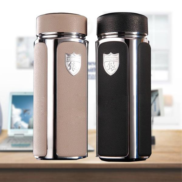 厂家批发创意离子纯银保健杯保温水杯茶商务礼品杯子茶叶养生