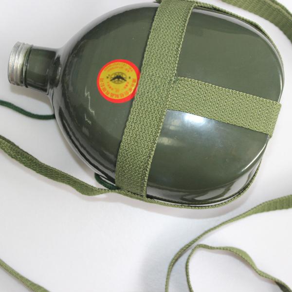 军训水壶87式老款水壶 铝制品军绿色夏令营1L2L3L大水壶
