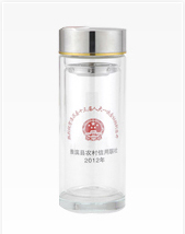 双层玻璃杯礼品杯印LOGO产品