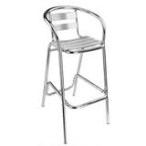 铝管椅.编藤椅 -CHO-125-1