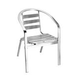 铝管椅.编藤椅 -CHO-124-5