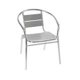 铝管椅.编藤椅 -CHO-124