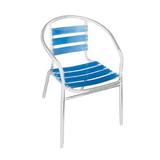 铝管椅.编藤椅 -CHO-124-7