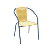 铝管椅.编藤椅 -CHO-124-2C