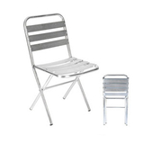 铝管椅.编藤椅 -CHO-125-2