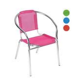 铝管椅.编藤椅 -CHO-124-8