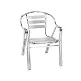 铝管椅.编藤椅 -CHO-124-1
